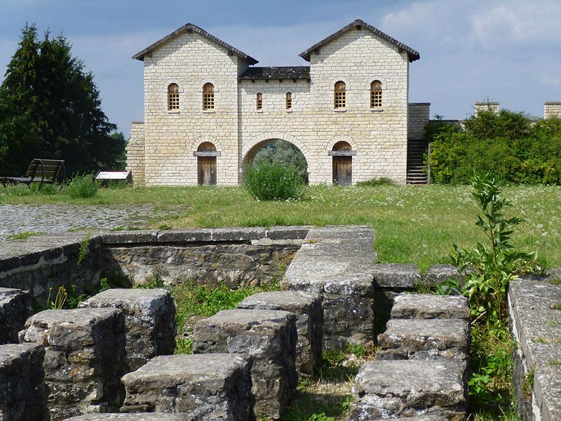 Das Castrum Biriciana in Weißenburg