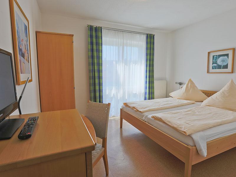Hotelzimmer Nr. 1 und 2