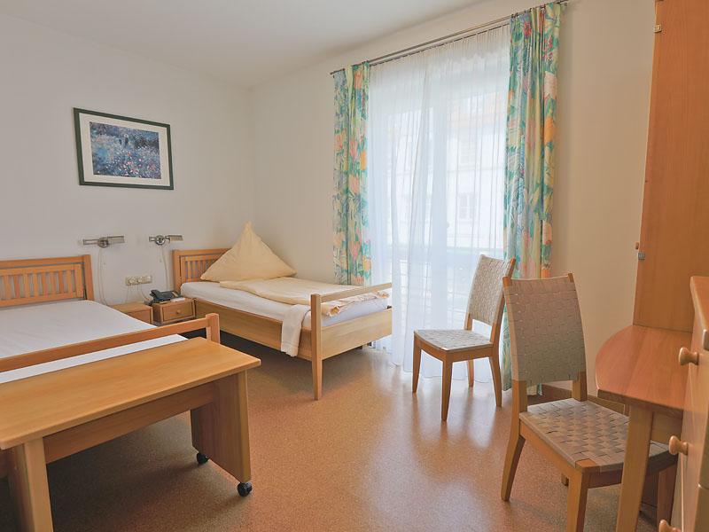 Hotelzimmer Nr. 3 und 4 – Wohnraum